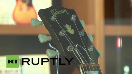 САЩ: Изгубената китара на Джон Ленън може да иде на търг за рекордна сума