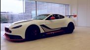 Първо видео на звяра от Aston Martin - Vantage Gt3