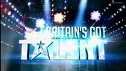 2011 Британия т.талант полуфинал Извънземния Румънец Матрицата