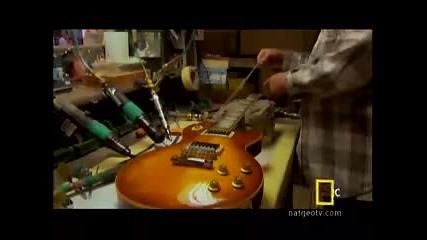 Как се прави китара Gibson