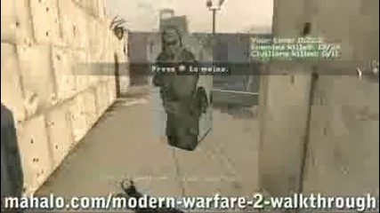 Call of Duty:modern Warfare walkthrough 1