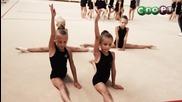 """""""лицата на спорта"""" - художествена гимнастика"""