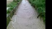 Последици от проливния дъжд в с. Салманово 2