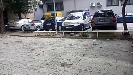 Унищожена детска площадка