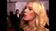 Scarlett Johansson Grammy Red Carpet