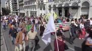 Greece: Public sector workers protest social security and pension reforms