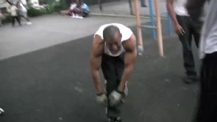 Street fitness mania