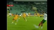 В.Димитров вкарва за 1:0 срещу Румъния
