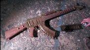 Как се прави автомат Ak-47 от китара