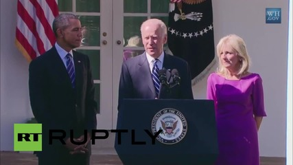 USA: Biden not running for President, calls on Democrats to push Obama legacy