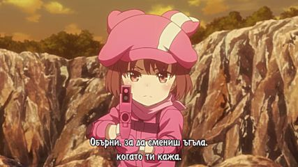 Sword Art Online Alternative - Gun Gale Online - 03 [ Бг субс ]