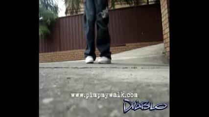 C - Walk Урок - V Stepback