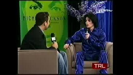 Майкъл Джаксън - Интервю За Mtv Trl 2001