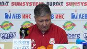 Любо Пенев обеща: ЦСКА ще е по-силен отбор новия сезон