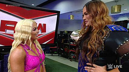 Mandy Rose & Dana Brooke take aim at Nia Jax & Shayna Baszler: Raw, April 12, 2021