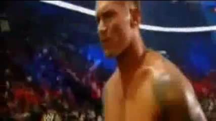 Randy Orton vs Wade Barrett (john cena refer )