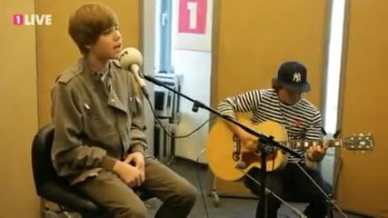 Justin Bieber Somebody t Love Live bei 1live