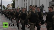 Ukraine: Protesters block Rada entrance until MPs vote 'yes' on Law 1558-1
