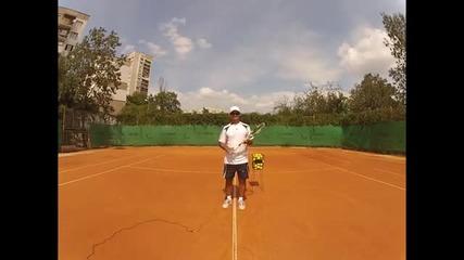 Тенис урок - Воле (на български език)