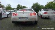 Това е звукът - Nissan R35 Gt-r срещу Bmw E92 M3 w- F1 Supersprint Изпускателна система