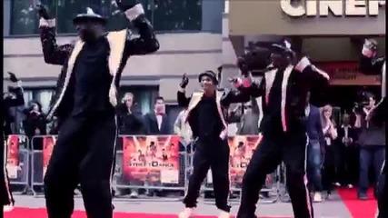 Streetdance 3d Зад кулисите: Flawless на червения килим