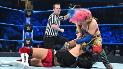 Asuka vs. Billie Kay: SmackDown LIVE, Jan. 15, 2019