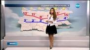 Прогноза за времето (27.01.2016 - централна)