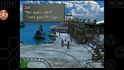Final Fantasy 8 - 11 Бягство от робота в Естар