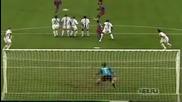 Най-добрите изпълнения от пряк свободни удари на Роналдиньо