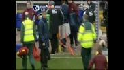 23.02 Бирмингам - Арсенал 2:2 Тейлър чупи крака на Едуардо Да Силва