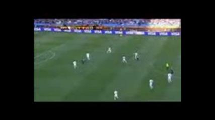 World Cup 2010 Словения - Сащ полувреме 1