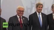 Външните министри от Г7 позират за групова снимка