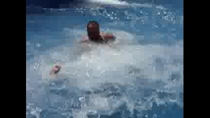 В Aqualand - Пързалката