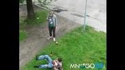 Уличен бой между чистачи и наркоси
