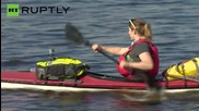 British Adventurer Begins 2,300 Mile Kayak Voyage Down Russia's Volga River