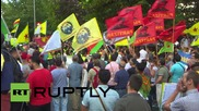Germany: Pro-Kurdish activists march in support of Suruc victims, condemn Turkey