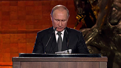 Israel: 'We will never forget' - Putin addresses Holocaust commemoration event