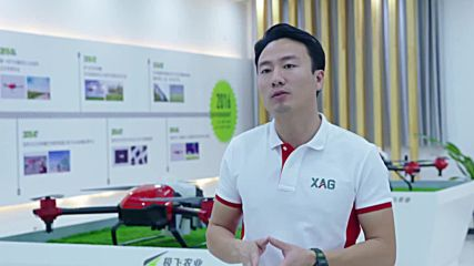 Crop spraying drones help Chinese farmers fly into the future