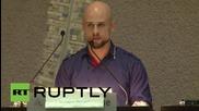 "Germany: 2015 'Whistleblower Award' winner slams ""destructive"" drone strikes"