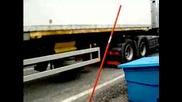 Камион се Вдига на 2 Гуми - Силата на Камиона