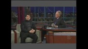 Tom Cruise On David Letterman Part 2