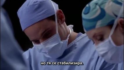 Анатомията на Грей сезон 3 епизод 11