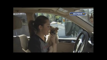 Mileys Got New Puppy