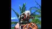 Naruto Fight - Jiraiya vs Orochimaru + Sakura aNd Kabuto SPRITE
