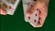 Един лесен, но ефективен трик с карти !! + разкриване