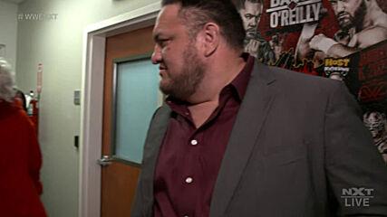Karrion Kross goes face to face with Samoa Joe: WWE NXT, June 22, 2021