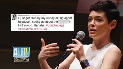 Rose McGowan Fired For Feminist Tweet!