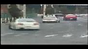 street racing - nissan silvia. ae86. r34 skyline drifting