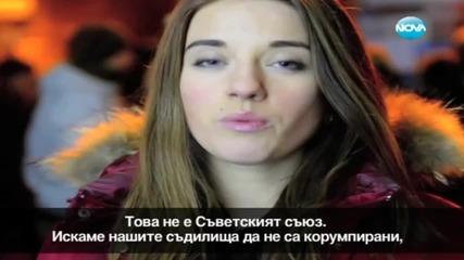 Млада украинка взриви социалните мрежи с видеообръщение