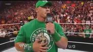 Wwe Raw 2.4.2012 - Brock Lesnar се завърна след 8 годишно отсъствие